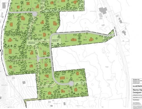 Detaljplan Norra Hjortnäsheden, Leksand